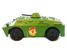 Vintage Toy Armored Car BRDM-2 diecast model Soviet Armor Vehicles USSR 1980s