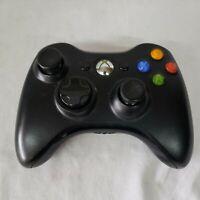 Official Microsoft Xbox 360 BLACK Wireless Controller Genuine Original
