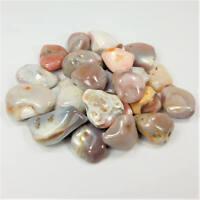 Bulk Wholesale Lot 1 LB - Pink Botswana Agate - One Pound Tumbled Polished