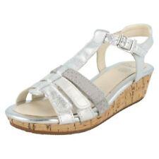 Scarpe sandali per bambine dai 2 ai 16 anni pelle lacci