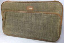 "Samsonite suitcase tweed soft shell lightweight keys lock address holder 13""x22"""