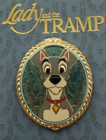 Disney Lady And The Tramp Tramp Portrait Pin LE 4000 65th Anniversary