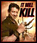 "4.5"" Doug Marcaida ""It Will Kill"" vinyl sticker. Forged in Fire Knife TV decal."