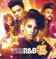 "WEEKND, BRUNO, ALICIA, RIHANNA, JOE  ""APPLE MUSIC TOP 20 R&B 5"" MIX CD.NOV 2016."