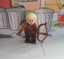 Lord of the Rings Hobbit lego mini figure LEGOLAS with bow 79001 30215