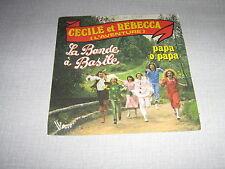 LA BANDE A BASILE 45 TOURS FRANCE DARNAL