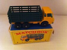 LESNEY MATCHBOX STAKE TRUCK WITH BOX