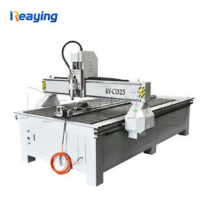 3KW 1325 cnc router woodworking wood furniture engraving cutting cutter machine