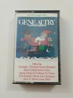 Gene Autry Christmas Favorites Cassette 1981 CBS