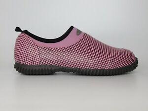 Women's Pink Herringbone Muck Boot Company Size 9/9.5 waterproof shoes