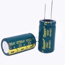 1PCS 63V 4700uF Radial Electrolytic Capacitors For PCB/LCD Mount 105°C 22x40mm