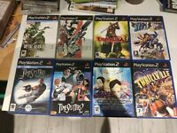 lot metal gear 2 3 sly 3 timesplitters code lyoko dmc pal ps2 ps playstation 2
