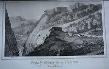 Guide du voyageur dans l'Oisans. Edition Originale. 9 lithographies.. 1854.