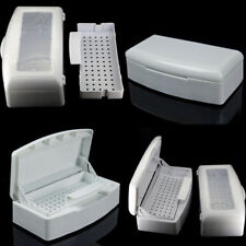 Nail Art Tool Sterilizing Sterilizer Tray Box Portable Clean Disinfection