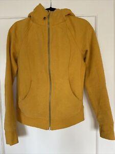 Lululemon Sweatshirt Hoodie Women's 8 Yellow Worn Once