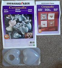 EBERHARD FABER Ceramofix DECO HEARTS MOULD Premium Quality 8735 10