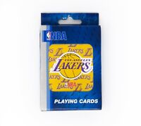 NBA Los Angeles Lakers Playing Cards Single Deck - New