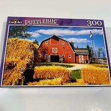 "PUZZLEBUG CraZart 18.25"" X 11"" Puzzle 300 Piece TRADITIONAL AMERICAN FARM - NEW"