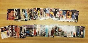 LOT OF 110+ 1990's- 2000 NASCAR RACING TRADING CARDS