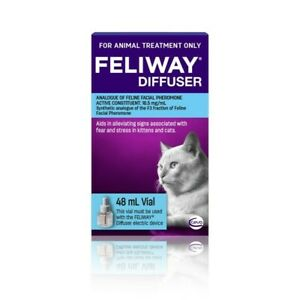 Feliway Calming Diffuser Refill For Kittens & Cats 48ml (F8051)