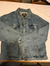 Harley Davidson Men's denim Jacket XXL