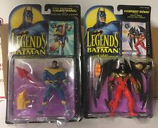 2 NIP Kenner Legends of Batman Action Figures Knightquest Knightwing 1994