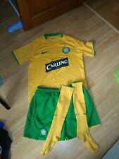 maillot short chaussettes celtic glasgow jaune nike taille m l
