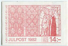 SWEDEN (H340) Scott 1424a 1.40kr Christmas Post booklet