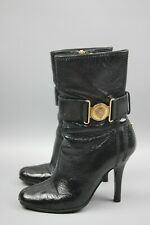Women's Gucci Ankle boots black patent leather Size 35