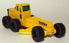 Tonka Die Cast Road Grader in Yellow