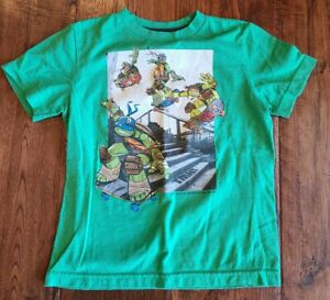 Old Navy Youth Boys Collectibles Ninja Turtles Size Small 8/10 Soft Green