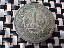 TURKEY 1 LIRA 1947 TURKISH SILVER COIN VERY NICE COIN