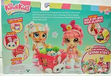 Kindi Kids S1 Kindi Fun Shopping Cart Multicolor 2 Exclusive Shopkins Included!