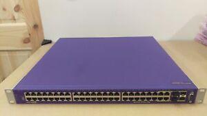 Extreme Networks X450e-48p 48 Port 1G Gigabit Ethernet Switch PoE Layer 3 16148