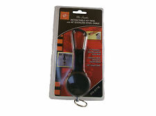 """Retractable Key Reel 2"""" X 48"""" w/Stainless Steel Cable on Carabiner Free Shipping"""