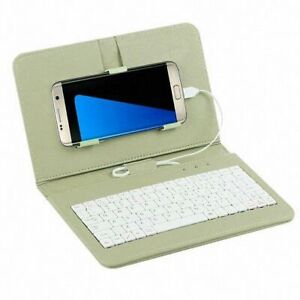 Portable General Wired Keyboard Flips Holster Case For Andriod Mobile Phone Gift