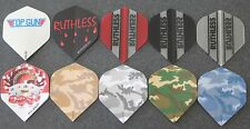 """10 Packets, New Ruthless Extra Strong Darts Flights """"Need 4 Speed""""."""