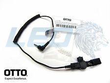 New OTTO 3.5mm Listen Only Earpiece with Acoustic Tube for Police Speaker Mics