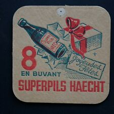 Superpils Haecht Sous-bock bierviltje bierdeckel coaster