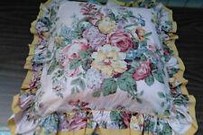 Aubrey-VINTAGE Ralph Lauren PINK FLORAL PILLOW SHAM OR PILLOW Covers Zippered