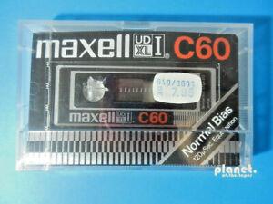 🔛 1x MAXELL UD XL I C60 * cassette Kassette кассета * NEW SEALED NEU OVP * 🔝 ~