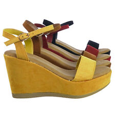 26ad012c81a Buckle Wedge Synthetic Bamboo Shoes for Women for sale | eBay