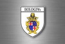 Autocollant sticker voiture blason ville drapeau ecusson bologne bologna italie