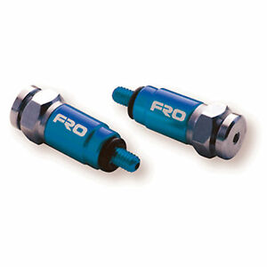 FRO Systems Motocross Front Fork Suspension Air Bleeders - KAYABA SHOWA - Blue