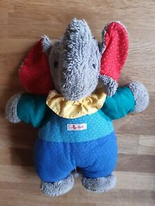Sigikid Spieluhr Elefant, Frottee etwa 28 cm groß , Schlaf Kindlein schlaf