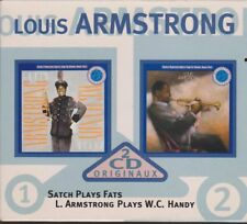 Louis Armstrong Satch Plays Fats / Plays W.C. Handy Doppel CD CBS Records