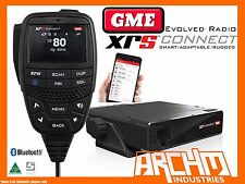 GME XRS-330C SUPER COMPACT HIDEAWAY, BLUETOOTH UHF RADIO- 80CH 5WATT 2 WAY CB