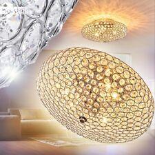 LED Decken Lampe Mosaik-Glas GOLD Beleuchtung Leuchte Wohn Schlaf Zimmer Diele