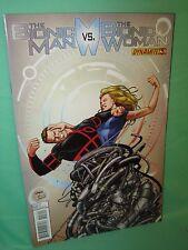 Bionic Man vs Bionic Woman #3 Sean Chen 1st Print Comic Dynamite Comics VF
