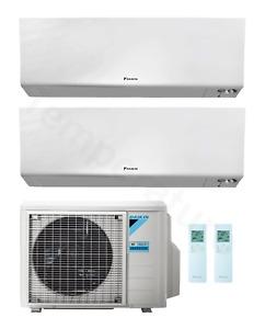 Daikin Perfera 2-Raum Multisplit Klimaanlage 1x 2,0 + 1x 2,5 kW A+++/A++ R32